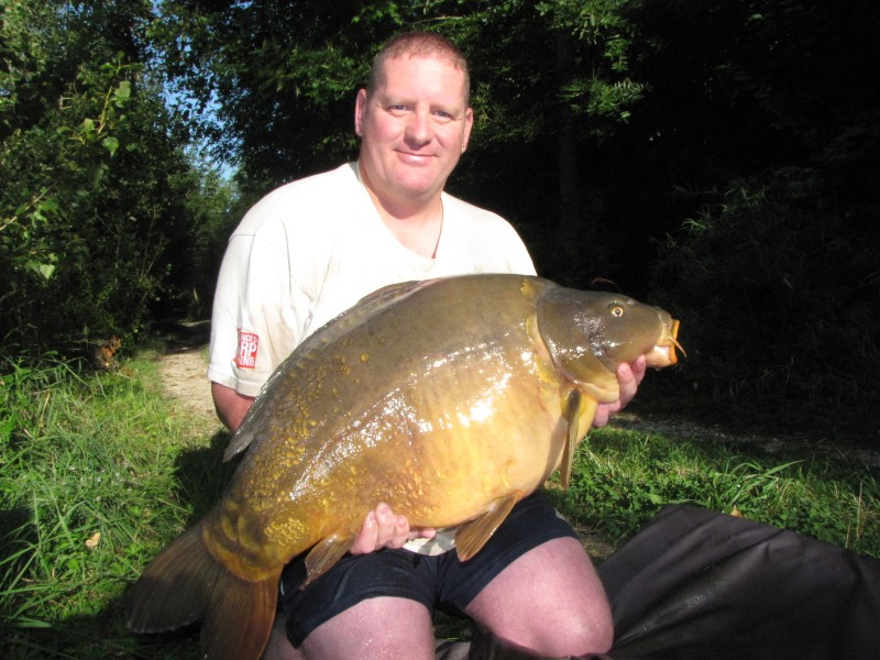 1st time at 40+  from Big southerly July 2012 @ 41lb