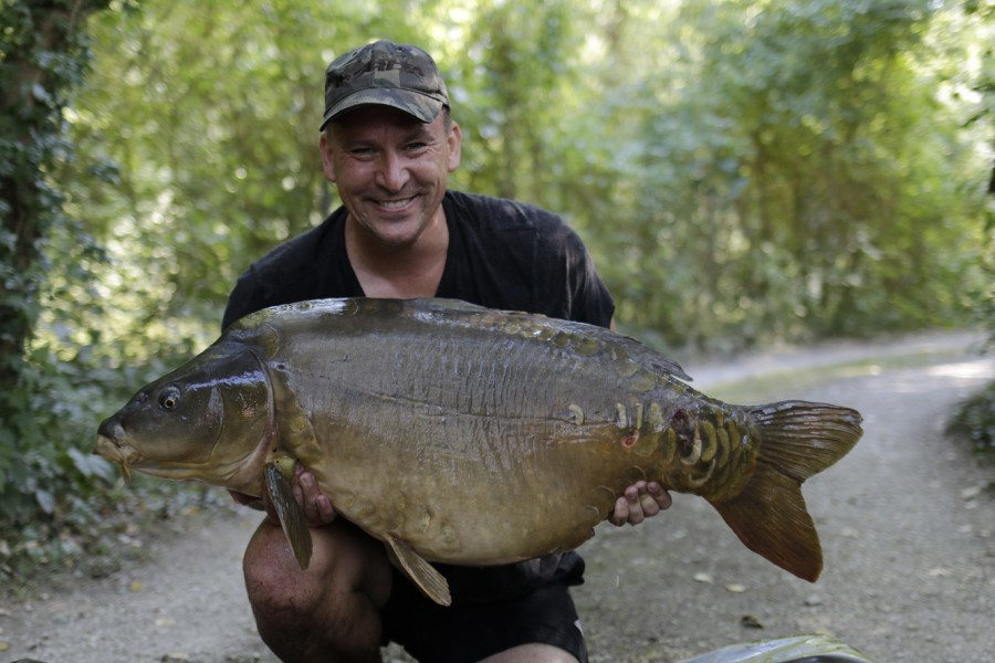 Jay Willis, 54lb, Scottie's Corner, August 2016
