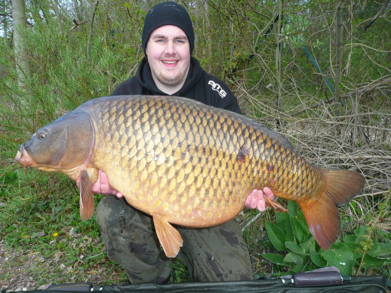 Nude Patch Common at 53lb 8oz from Big Southerly in April 2012