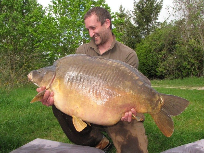 Darren doubled his PB with this capture of the Freak @ 53+ caught from Co's, its second capture from that swim, at 80m+ on Mainline Cell
