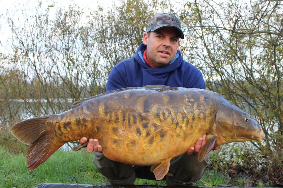 Buzz with little plated at 36.8lbs nov' 14