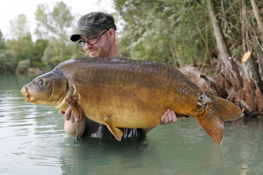 Rob Willingham, 57lb 12oz, Co's Point, August 2016