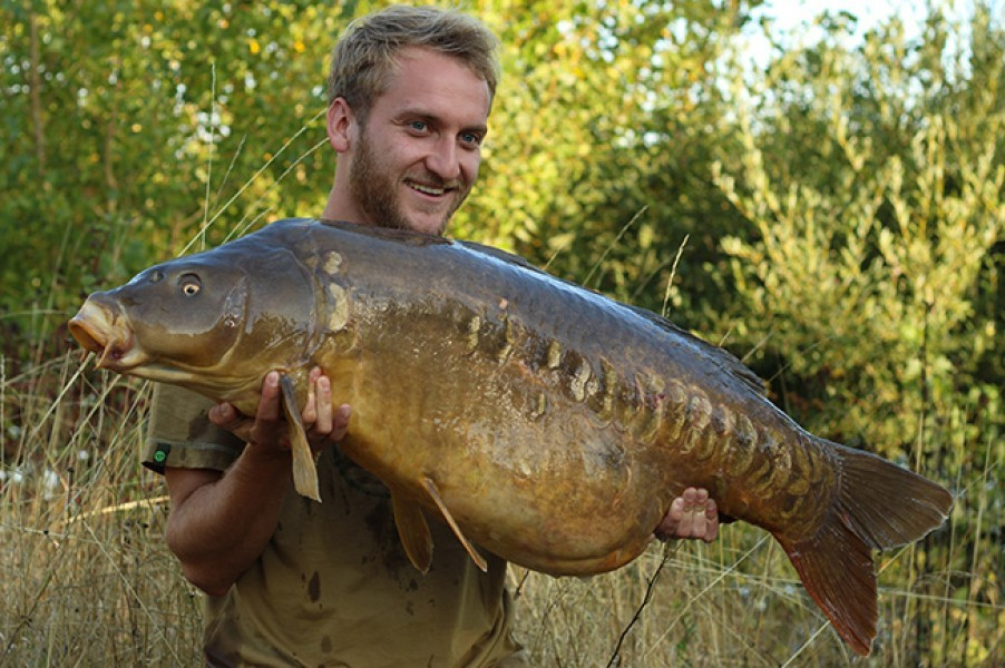 Tom Dove 48lb 12oz August 2015