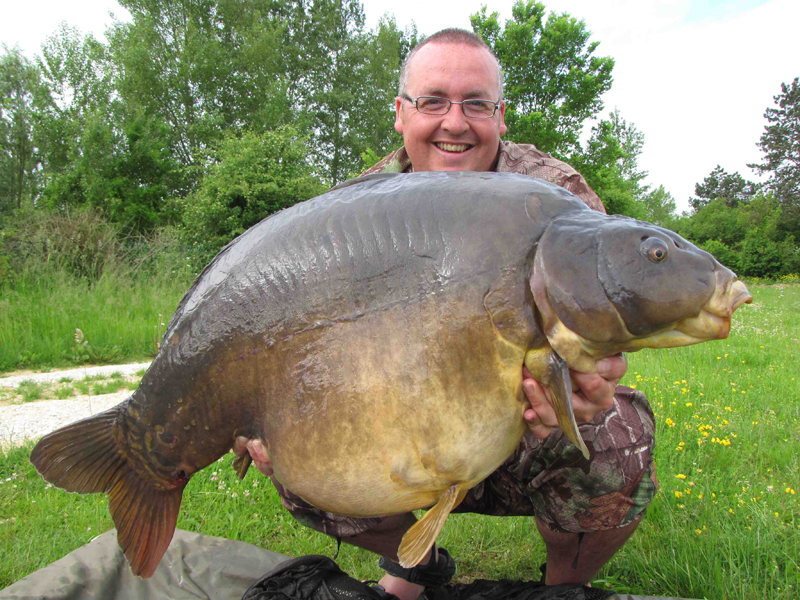 Danny Turtle, 56lb 4oz, Pole Position, May 2009