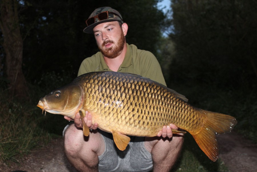Deacon Olley with Josh's Common at 33lb Alamo 8.7.17
