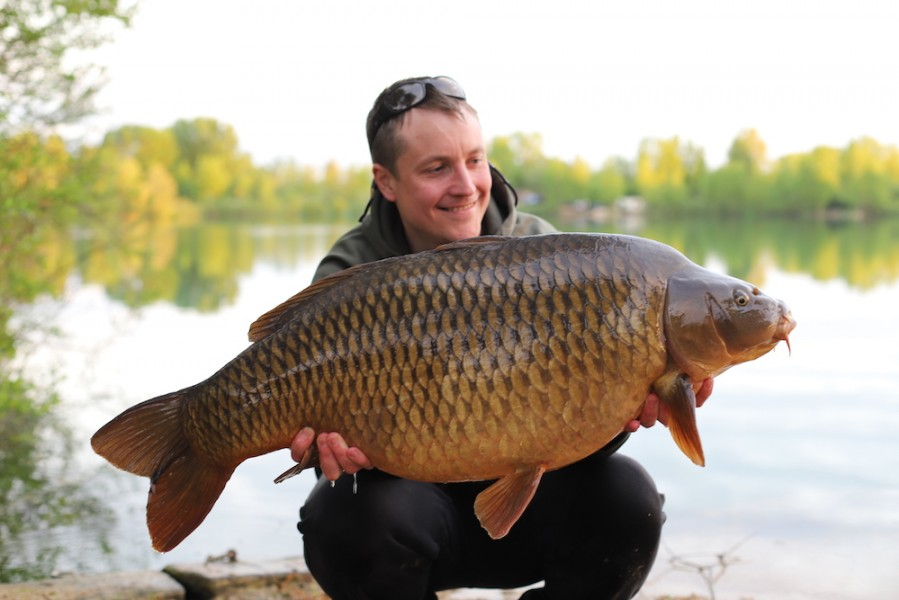 Paul Brown with Browny's at 41lb 28.4.18