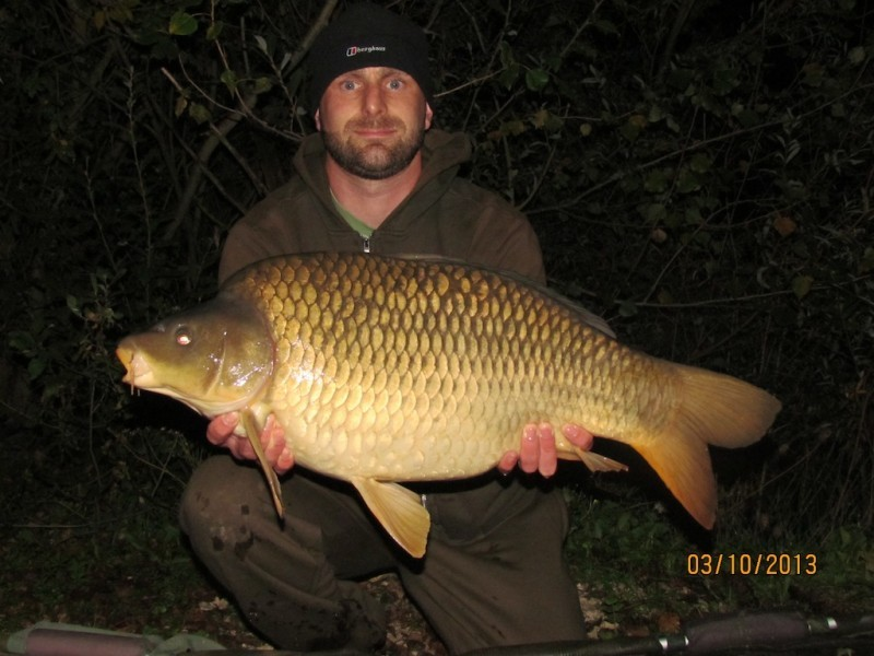 22lb 8oz Stock Pond October 2013