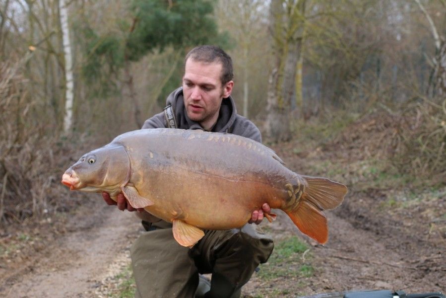 Gary Edwards with Eddies at 33lb from The Stink 25.2.17