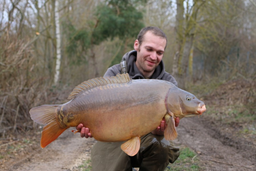Eddies at 33lb from The Stink 25.2.17