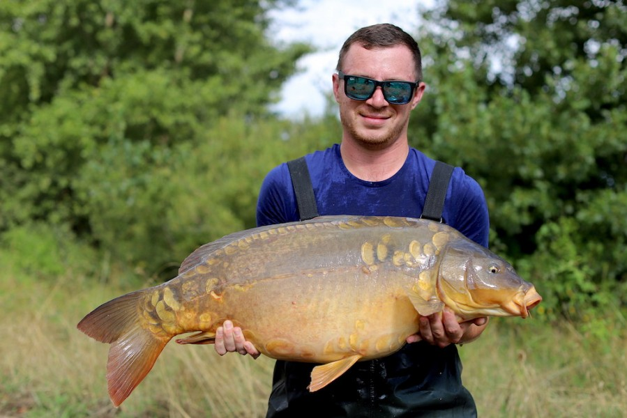 John Pike, 28lb, Stock Pond, 17.08.19