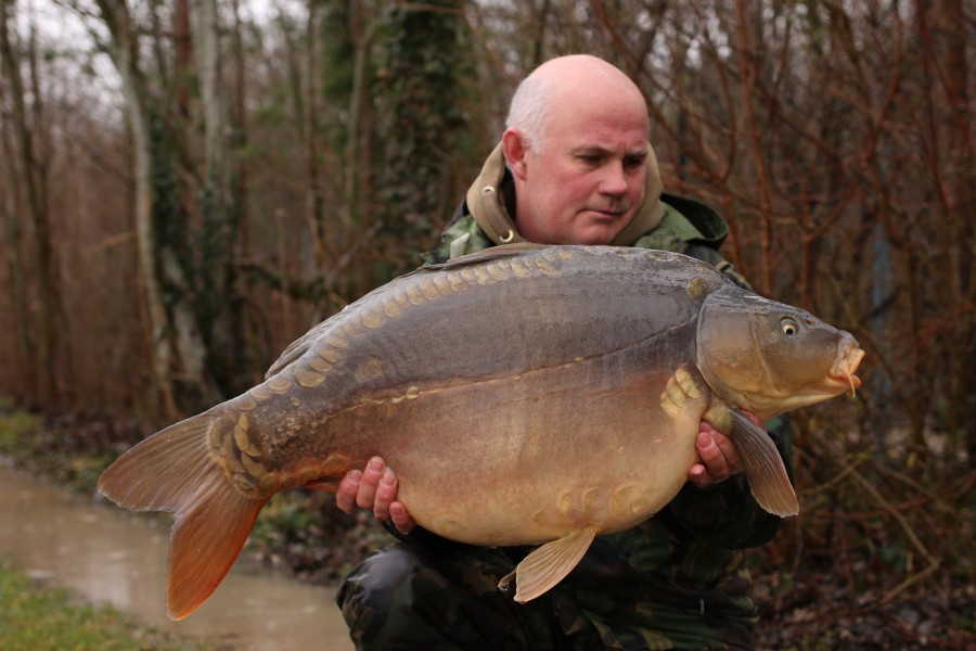 Steve French - 33lb - Big Southerly - 22/01/2021