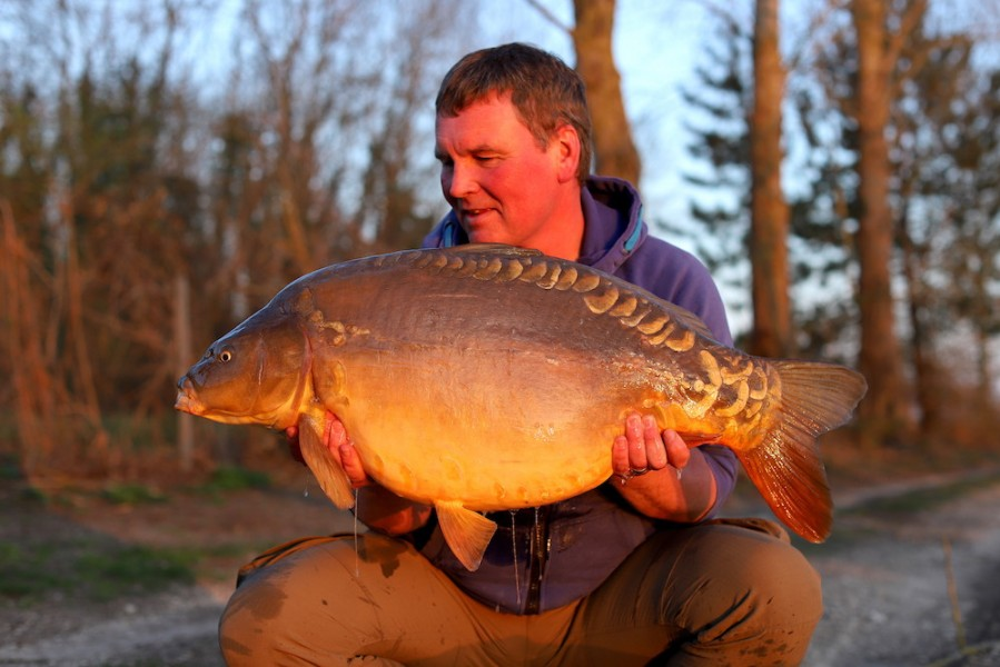 Andy Savage, 34lb 4oz, The Stink, 21.03.20