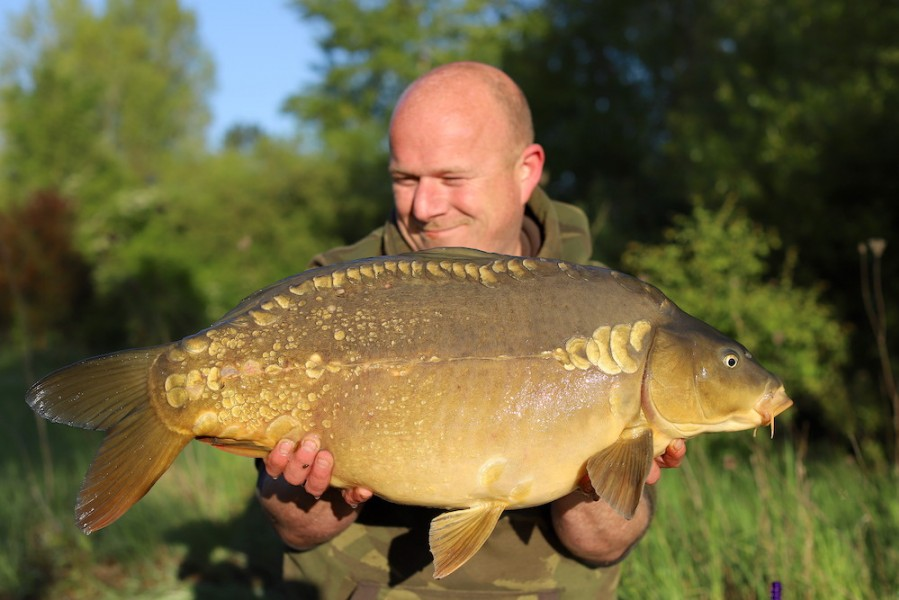 Martin Carefoot, 24lb 4oz, Stock Pond, 4.5.19