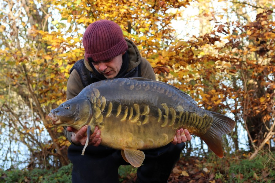 James Jones 38lb Alcatraz 16.11.20