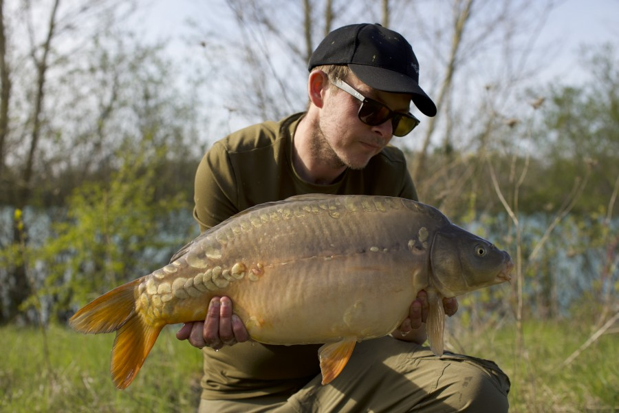 James Jones, 16lb, Stock Pond, 13/04/19