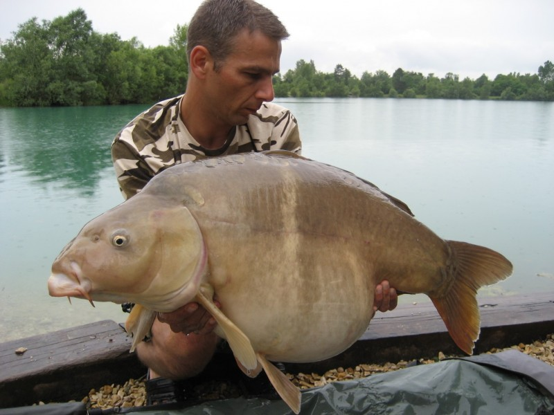 43lb, caught 2010 from Big girls