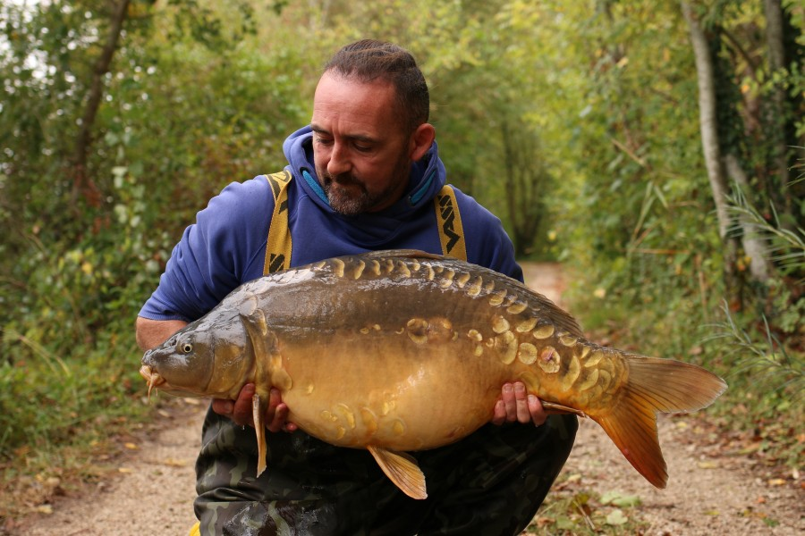 Chris Clarke, 34lb, Big Southerly, 28/09/2020
