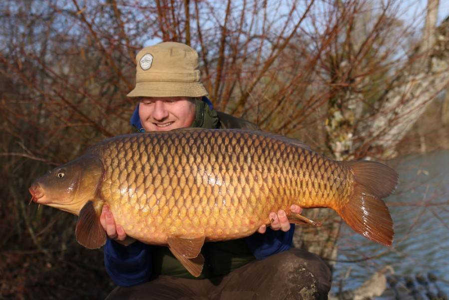 Steve Bartlett, 33lb, Co's Point, 22.12.18