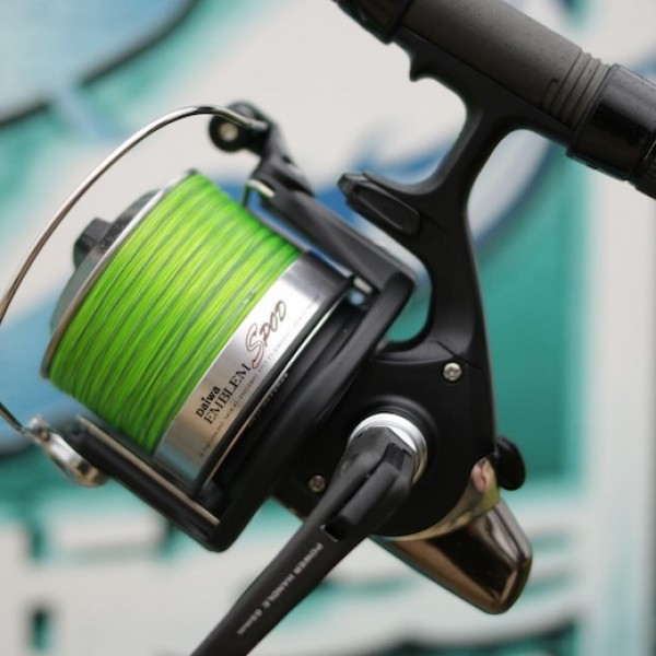 Daiwa Spod reels are true workhorses that cope brilliantly with the demands of Gigantica.