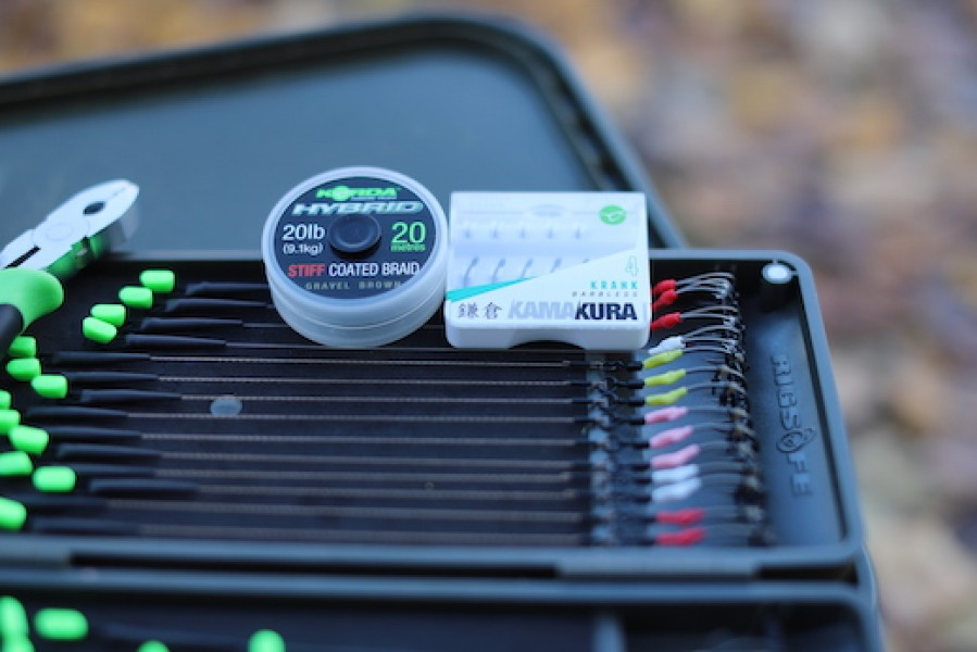 Advanced preparation and being organised will help you catch more fish.