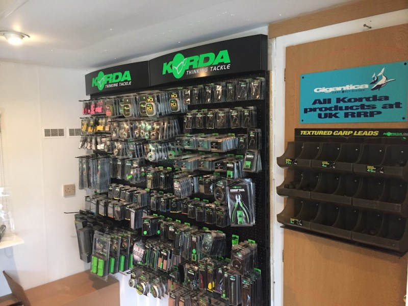 Our on site tackle shop is well stocked in case you forget anything.