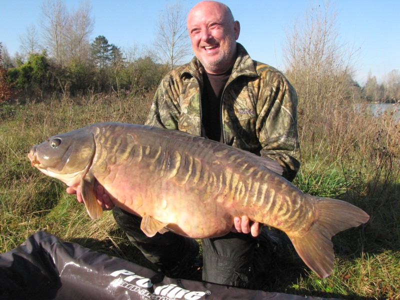 Gary looking happy with Snags linear @47lb