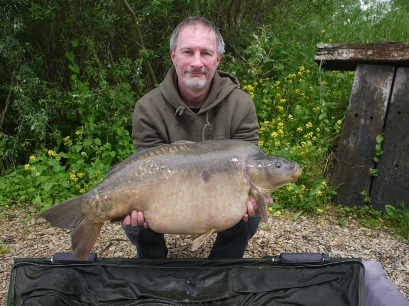 Nick Cole with his stunning 37