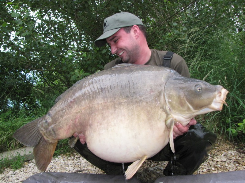Dave with 'Spences' @ 63.12, our newest 60+