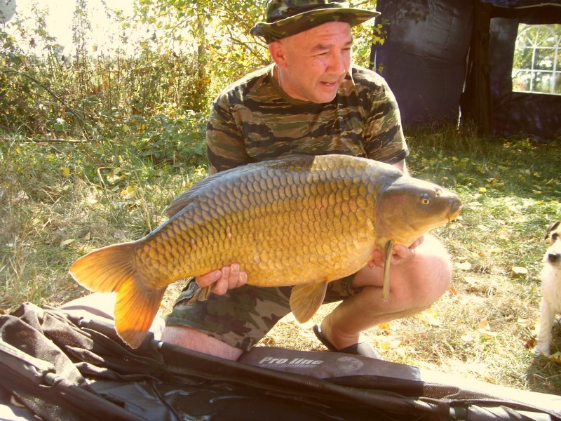 Michaels stunning 32lb common.