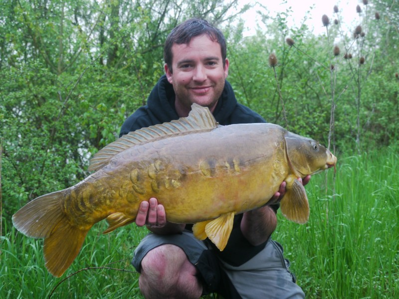 Andrew with a zig caught mirror