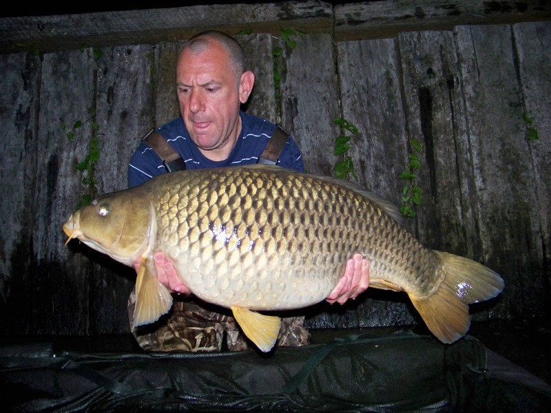 Jim with a 26lb common