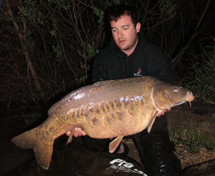 Andrew with wodka at 40lb