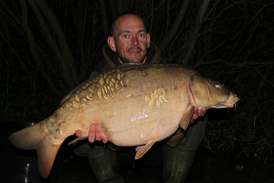 Dave H with a zig caught 31lb+ mirror