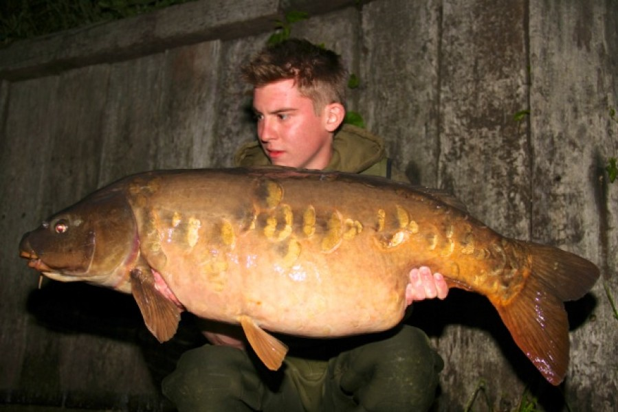 "Ben with ""stoneacres"" at 40lb+"