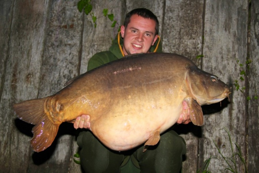"Tom Maker with ""two time"" at 56lb+ caught on an 18ft zig"