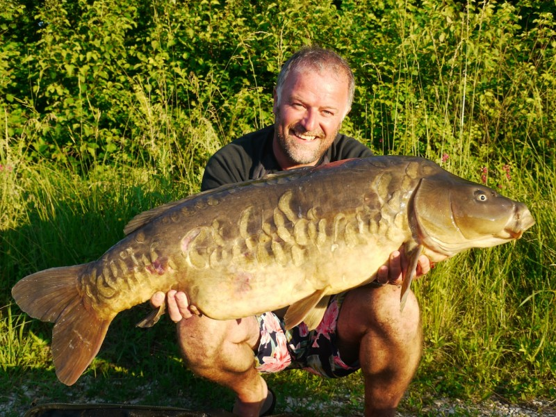 Barty with the grey plated at 36lb