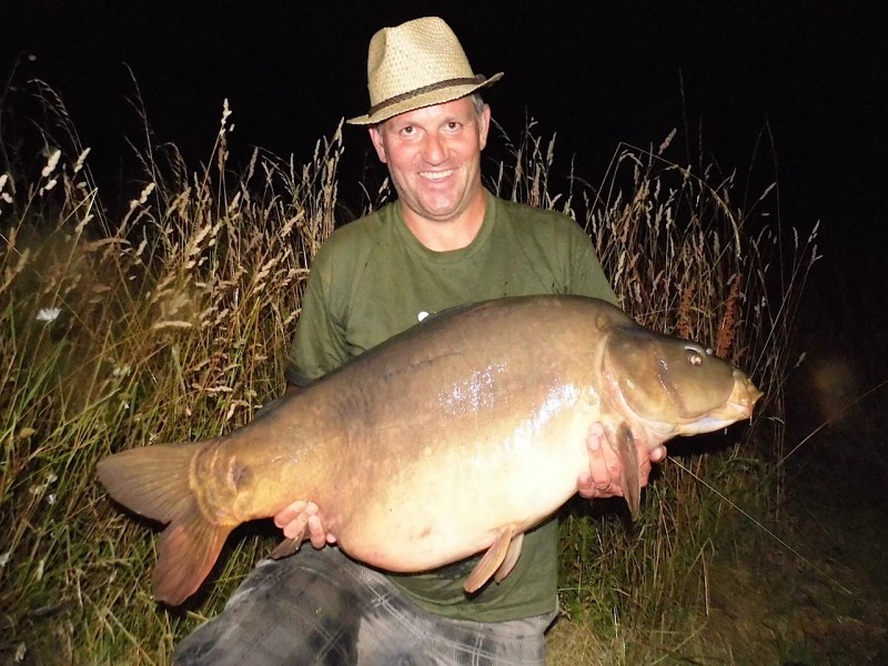 Dave with a 45.12lb mirror