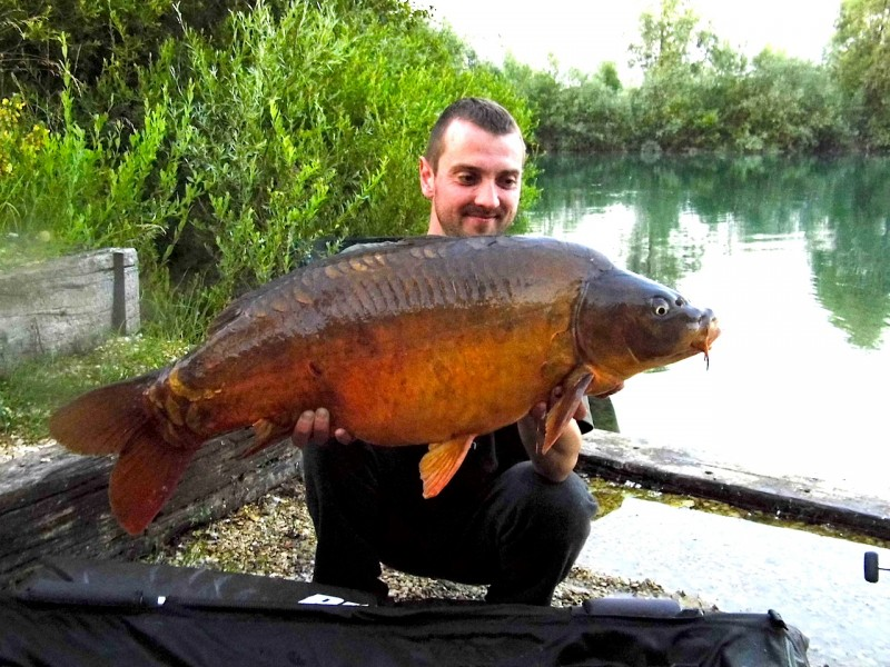 Russ with a 25lb mirror