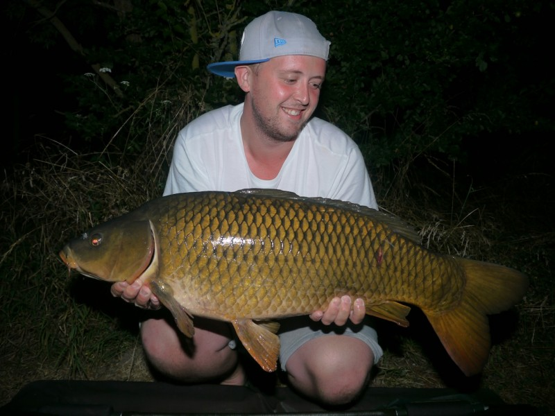 Dan with a 20lb common