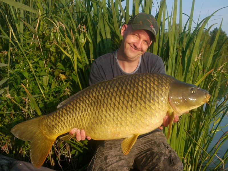 Dirk with a 37.08lb common