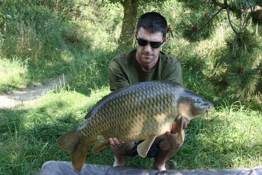Mike with a 23lb common