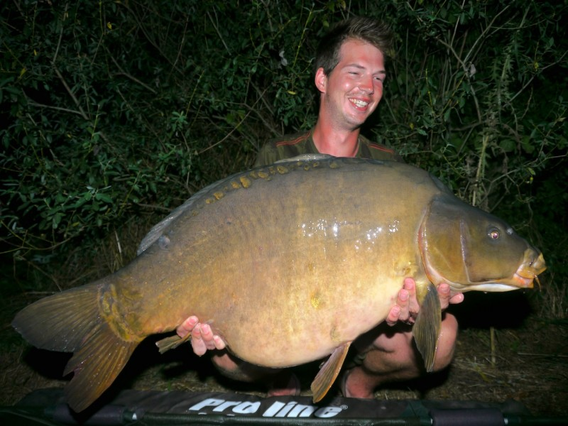 Tran with The 43 at 49lb 15oz from Co's Point in July 2013