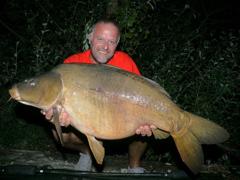 Barty with a 35lb mirror