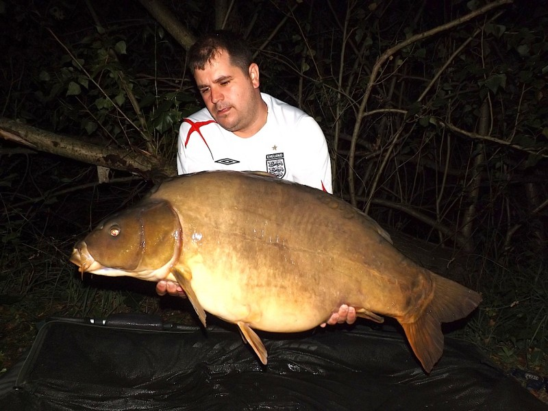 Nick with a 47lb mirror