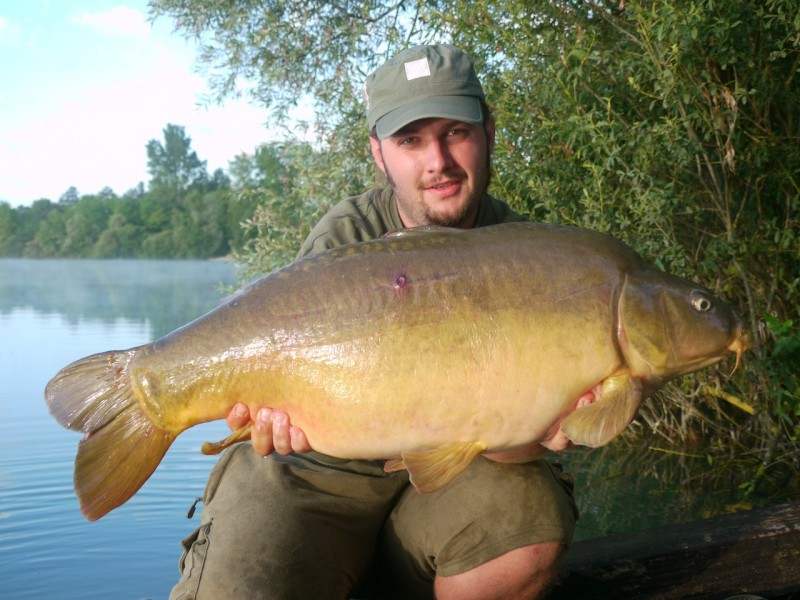 nick with a 30lb+ mirror