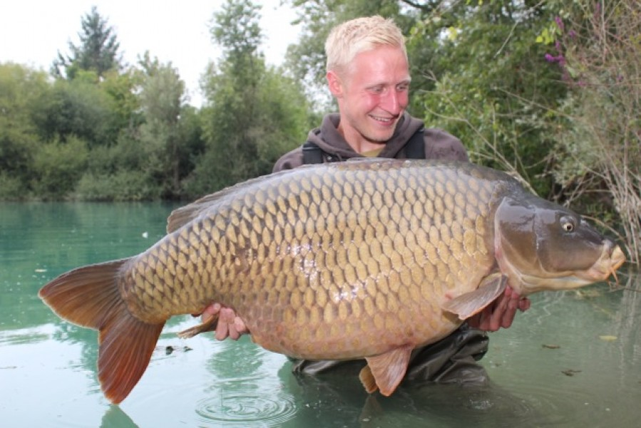 Jake with The Immaculate Common 59.4lb