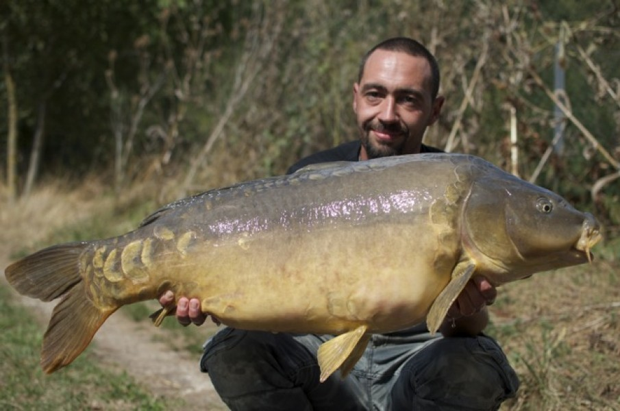 Jon Mann with the Unattended at 37lb+