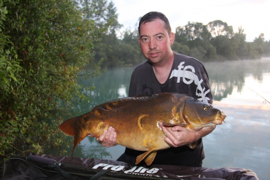 Bullet with a stunning 26.10lb mirror