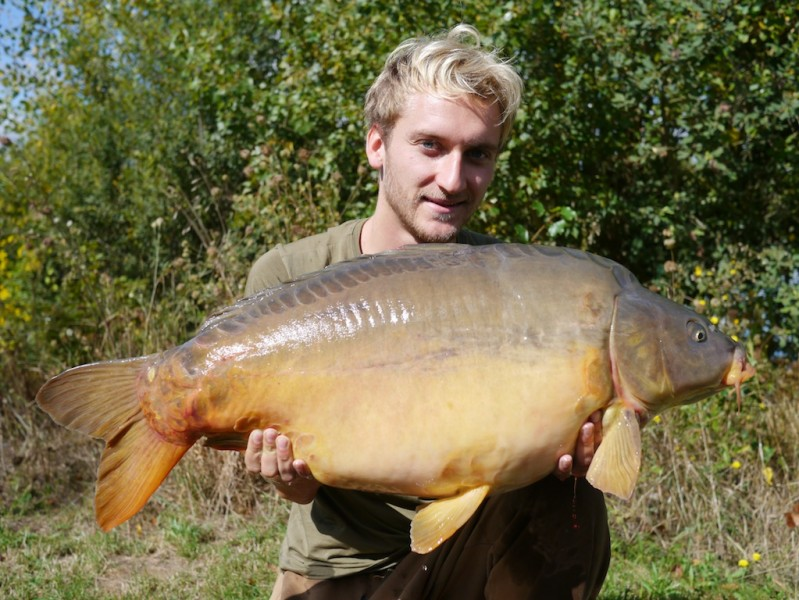 Tom with a 31.10lb mirror