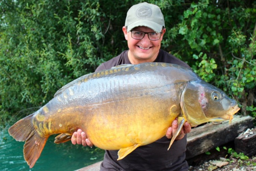 The Sargent at 39.12lb